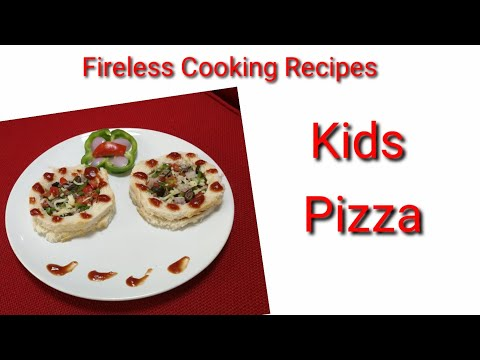 Kids Pizza / Fireless Cooking Recipe / YasinHiba's World