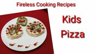 Kids Pizza / Fireless Cooking Recipe / YasinHiba's World