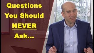 NEVER Ask These Questions in a Job Interview