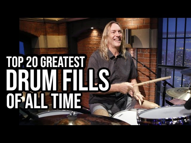 TOP 20 DRUM FILLS OF ALL TIME