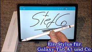 Ein Stylus Stift fürs Samsung Galaxy Tab A7 und Co.