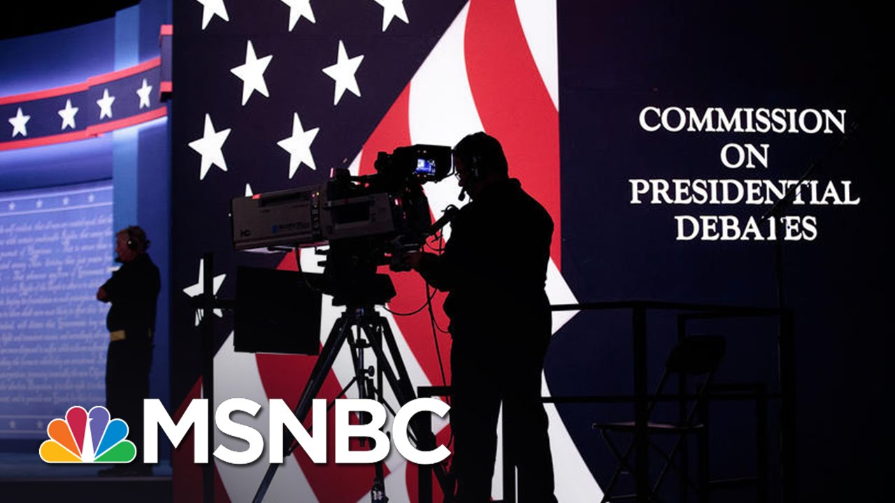 Hillary Clinton Has A 'Tougher Job' In First Debate | Andrea Mitchell | MSNBC thumbnail