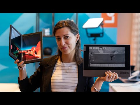 External Review Video WPSBddlTWww for Lenovo ThinkPad X1 Fold