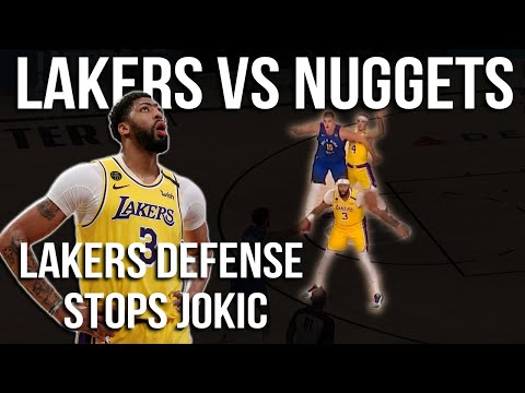 How the Lakers defense stopped Jokic & Anthony Davis Dominates | Lakers vs Nuggets Game 1 Breakdown