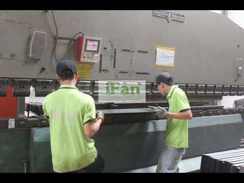 Quy trình sản xuất quạt thông gió iFan