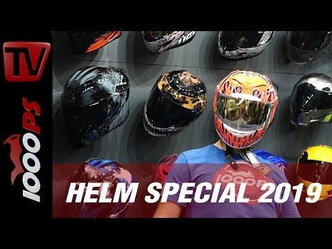 1000PS Helm Special 2019 – Vauli zeigt die neuesten Innovationen und Trends beim Kopfschmuck!