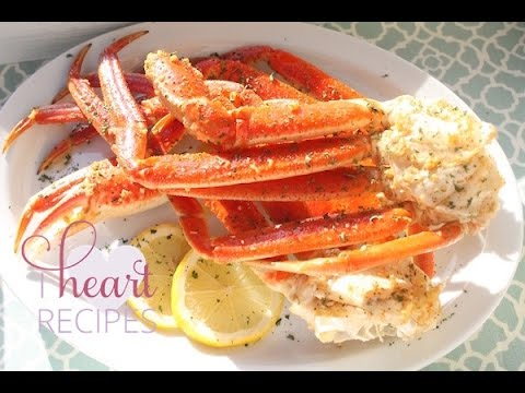 How to cook Snow Crab Leg in the oven – Easy Seafood Recipe – I Heart Recipes