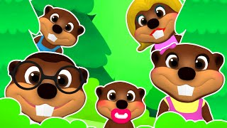 """Finger Family Beavers Pop"" 