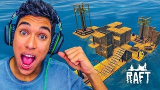 REFORMA NA CASA DO BARCO !! - Raft [#09]