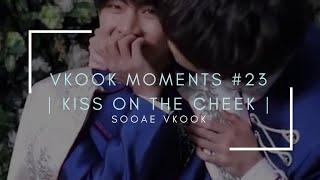 Vkook Moments #23 I Kiss On The Cheek I