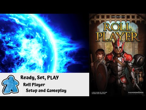 Ready, Set, PLAY - Roll Player Setup and Gameplay