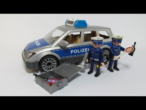 PLAYMOBIL® 6873 Polizei-Einsatzwagen - Aufbau + Vorstellung