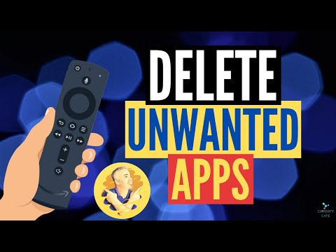 HOW TO UNINSTALL APPS ON AMAZON FIRE TV DEVICES