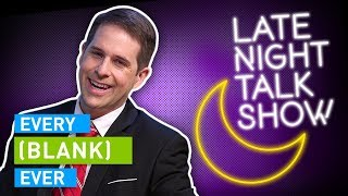 EVERY LATE NIGHT TALK SHOW EVER - dooclip.me