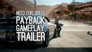 Need for Speed Payback Gameplay: Need for Speed Payback Trailer from E3 2017