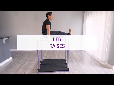 Leg Raises (on the Bars)