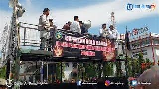 Gelar Unjuk Rasa, Ormas Islam di Solo Minta Mozaik Mirip Salib di Depan Balai Kota Diubah
