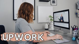 HOW TO BECOME A FREELANCER (Getting Started on Upwork) | THECONTENTBUG