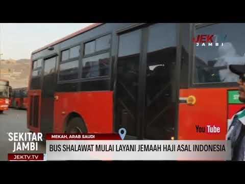 BUS SHALAWAT MULAI LAYANI JEMAAH HAJI ASAL INDONESIA