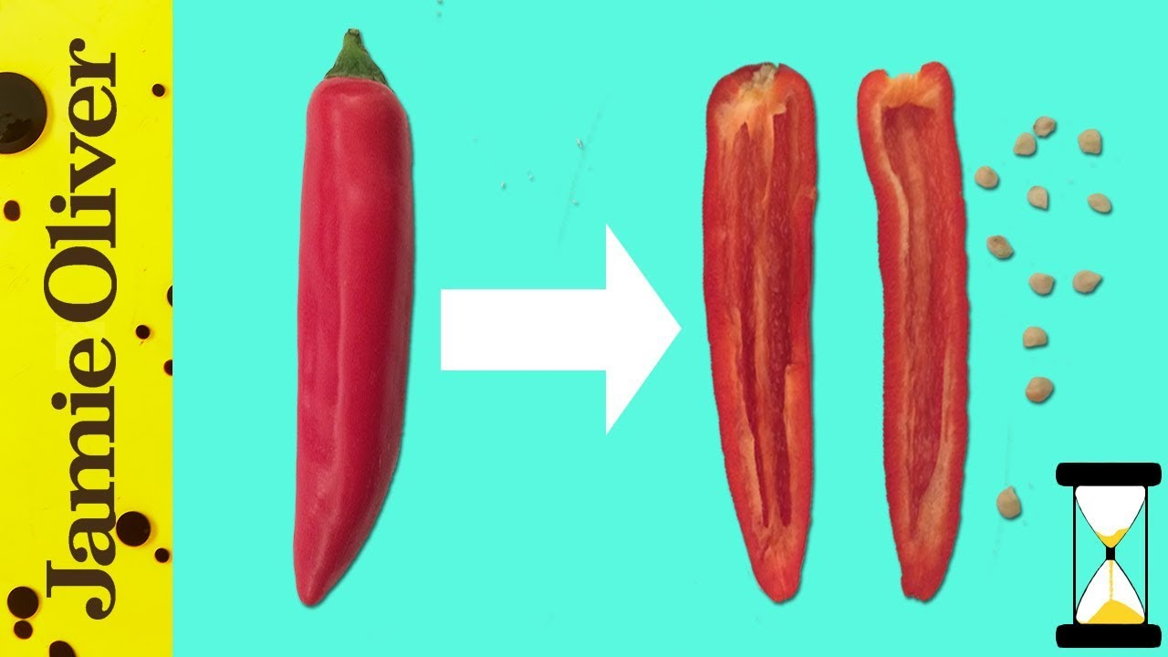 How to… de-seed a chilli