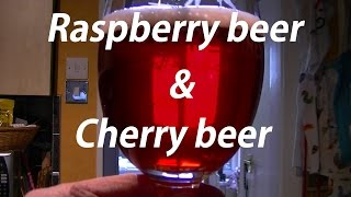 Making Rasberry Beer And Cherry Beer - Embarkation To Libation