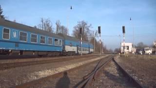 preview picture of video 'Vlaky ve stanici Střelice avicii levels'