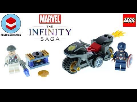 Vidéo LEGO Marvel 76189 : L'affrontement entre Captain America et Hydra