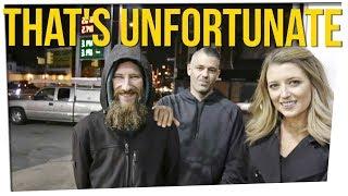 Viral Homeless Vet Back on the Streets ft. Bethany Mota, D-Trix & DavidSoComedy