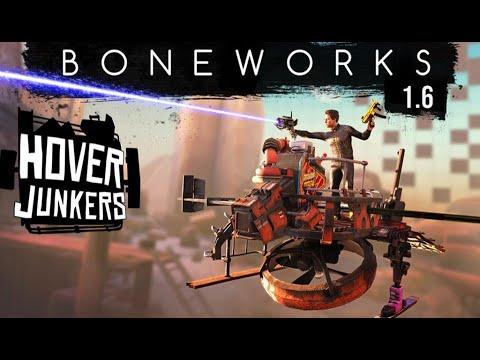 Mise à jour 1.6 - Hover Junkers de Boneworks