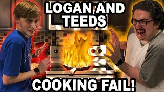 THEY ALMOST BURNT THE HOUSE DOWN!! (TWICE)