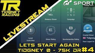 [GT Sport Livestream] - Current DR: B || Lets Start Again #4 - Tidgney 0 to 75k DR