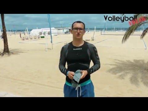 Beachvolleyball an kalten und heißen Tagen - Tipps zur Kleidung