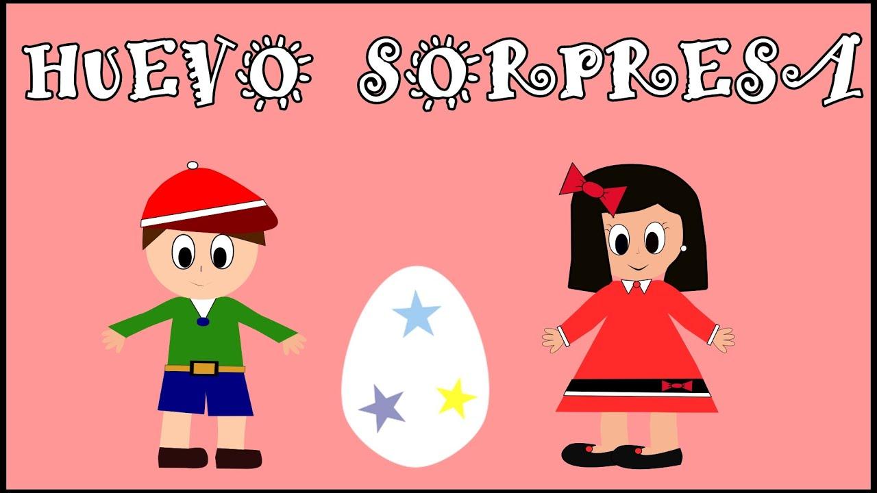 Huevo Sorpresa - Canción del Color Rojo - Aprender Colores en Español para Niños - Vídeos educativos