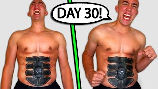 The 8-Pack Abs Machine: 30 Day Results