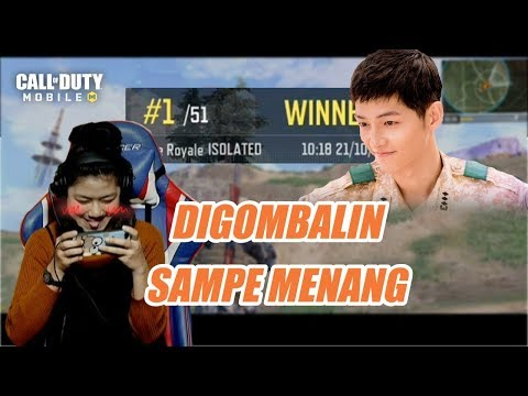 DIGOMBALIN SAMPE MENANG | Call Of Duty Mobile Indonesia