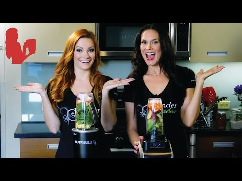 Nutri Ninja vs NutriBullet Rx Green Juice Test | Blender Babes