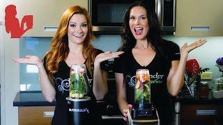 Nutri Ninja vs NutriBullet Rx Green Juice Test | Blender Babes