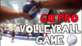 GO-PRO Volleyball GAME! - How To Play Volleyball