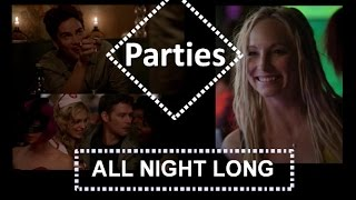 Andrew Lees, TVD & TO- Parties ( Klaus, Lucien and Caroline )