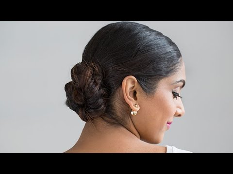 How to Get a Fishtail Side Braid Bun Tutorial