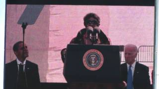 "Aretha Franklin Sings ""Precious Lord"" At The MLK Monument Dedication [HD] - October 16, 2011"