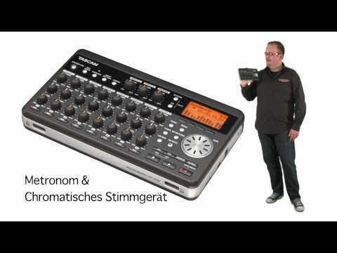 Tascam DP-008 Digital Pocketstudio Mehrspurrekorder