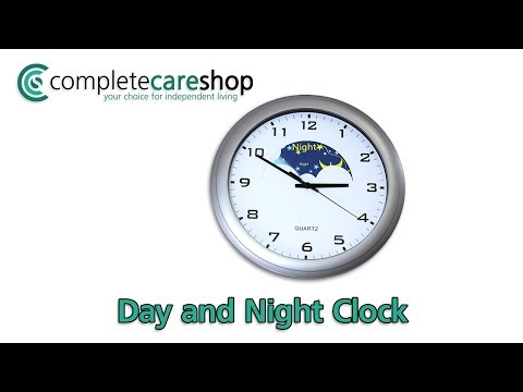 Video Demonstrating the Dementia Care Clock