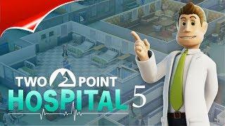 Two Point Hospital 5 НОВЫЕ БОЛЬНЫЕ,НОВЫЕ ВРАЧИ