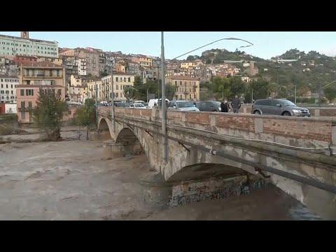 Φονική κακοκαιρία στα σύνορα Ιταλίας και Γαλλίας