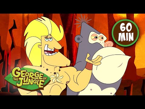 Heart of Gold | George of the Jungle | Compilation | Cartoons For Kids
