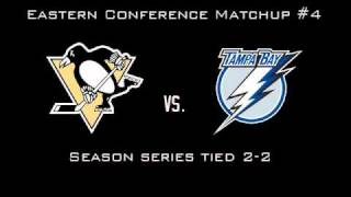 2011 Stanley Cup Quarterfinal Matchups and Schedules