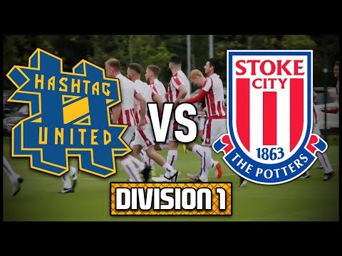 HASHTAG UNITED vs STOKE CITY STAFF - DIVISION 1