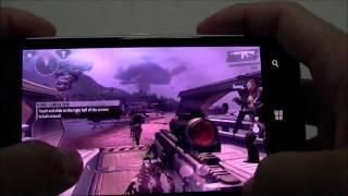 NokiaLumia 925 Game Test