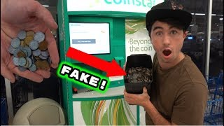 WILL COIN STAR ACCEPT FAKE MONEY!?!?!